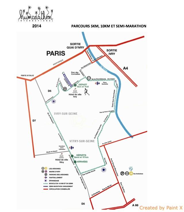 Parcours humarathon